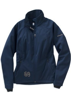 Notre Dame Columbia Ladies Navy Hot to Trot Jacket by Columbia