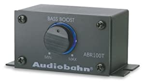 Audiobahn ABR100T Remote-Mount Bass Boost Control