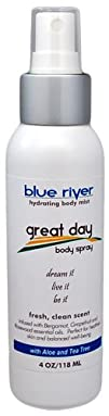 Great Day – Aromatherapy Body Spray with Lavender, Ylang Ylang and Mandarin. 100% Pure Essential…
