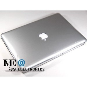 IVEA CLEAR Crystal Clip on See Thru Hard Case Cover for New Macbook Pro 13