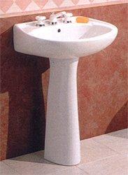 Buy Astral Pedestal Lavatory Sink - 21 x 17 - 4