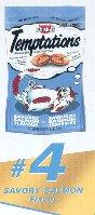 Mars Pedigree 72304 Whiskas Temptations Cat Treat Pack of 12B0002AQKDY