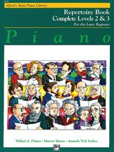 Alfred 00-6299 Basic Piano Course- Repertoire Book Complete 2 &Amp; 3 - Music Book front-987434