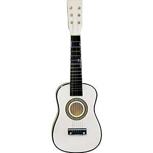 23 childrens toy white acoustic guitar string instrument musical instruments. Black Bedroom Furniture Sets. Home Design Ideas