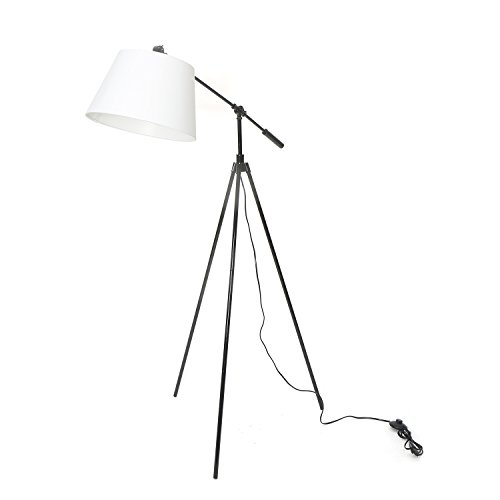 @home by Nilkamal Multicolor Metal Contemporary Lighting Black Novelty Floor Lamp