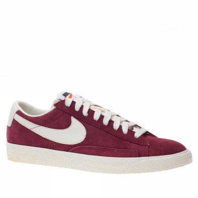 Nike Blazer Basse Bordeaux