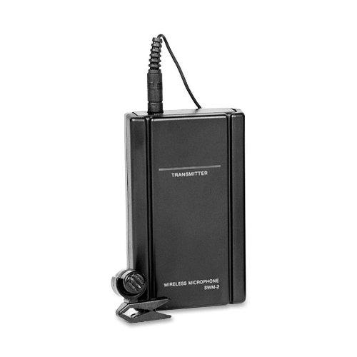 Oklahoma Sound - Wireless Tie Clip Microphone, 200' Range, 1 Each, Black, Sold As 1 Each, Oks Lwm6