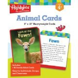 Eureka Highlights  Animals Giant Activity Cards
