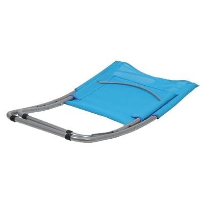 10T Sunchair - Mobiler Camping-Stuhl Strandstuhl faltbar Textilene hellblau 2700g leicht von 10T Outdoor Equipment auf Gartenmöbel von Du und Dein Garten