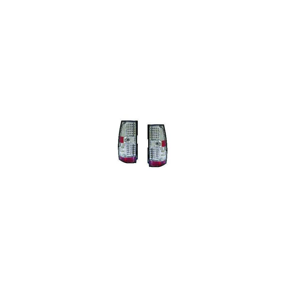 Chevy/GMC Replacement Tail Light Assembly (LED Chrome)   1 Pair