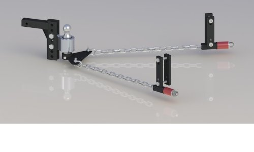 "Big Save! Andersen 3380 - Andersen 'No-Sway' Weight Distribution Hitch - 8"" Drop/Rise, 2-5/16&q..."