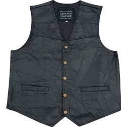 Misc Leather Vest XL.