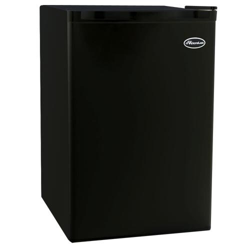 Purchase MicroLux 4.6 Cu Ft Compact Black Refrigerator Dorm Room Mini Fridge - ML1280BK