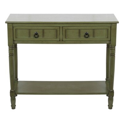 Cheap Console Table Color: Distressed Green (B009HC4AJ4)