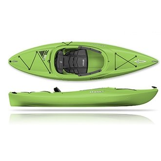90350242 Dagger Zydeco 9.0 Kayak, Lava from Confluence Watersports
