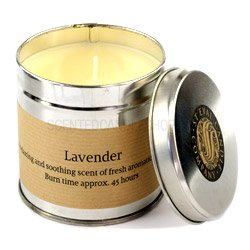 St Eval Scented Candle Tin Lavender by St Eval Candle Company