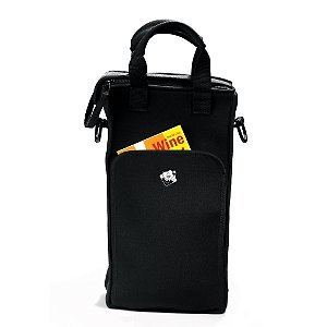 Wine Enthusiast 2-Bottle Neoprene Wine Tote Bag front-550742