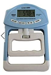 Electronic Dynamometer Hand Held Grip Reader Strength Counter Fitness Equipment(Colour:Blue)
