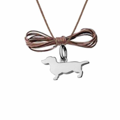 Fashionidea Jewellery - Charms in argento sterling 925 silver con charms animaletto bassotto...sei diventato grande !!!