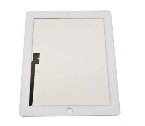 Apple Ipad 3 Digitizer Touch Screen Panel (White) 3Rd Generation