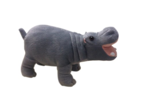 """12"""" Farting Hippo Plush Stuffed Animal Toy front-436026"""