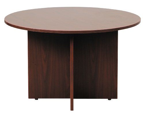 Boss 47 Inch Round Table Mahogany Your Extra Price
