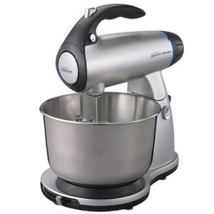 Sunbeam 2595 MixMaster Stand Mixer, Silver, 350 Watts by Jarden