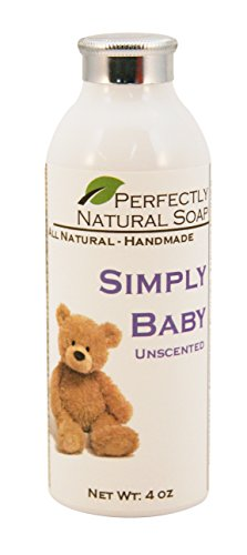 Simply Baby Unscented Talc-Free Powder, 4 Oz front-58997