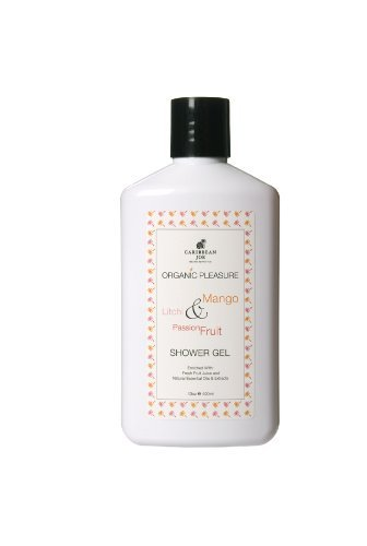 caribbean-joe-organic-pleasure-shower-gel-130-ounce-by-caribbean-joe