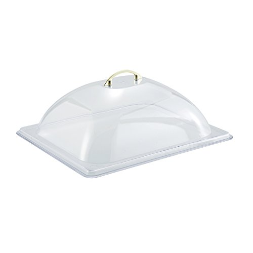 Winco C-DP2 Dome Cover, Half Size, Polycarbonate