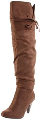 Not Rated Women's Starlet Knee-High Boot,Taupe,8.5 M US