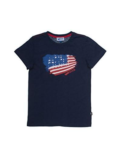 Gas T-Shirt Manica Corta [Blu Navy]