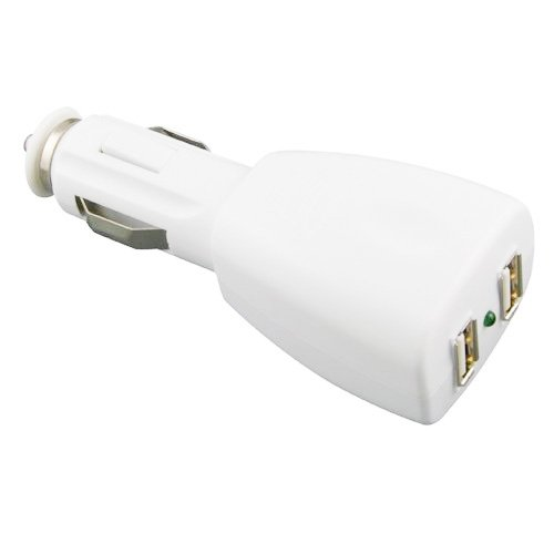2-Port USB Car Charger Adapter