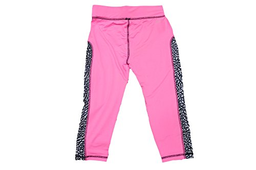 Jordan Women's Dri-Fit Training Capri Pink Glow/Elephant Print Pant s what ultra slim aluminum alloy bumper frame case for iphone 5 5s grey