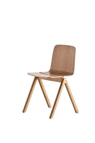 HAY Stuhl Copenhague Chair - Eiche lackiert Ronan and Erwan Bouroullec 2012, Eiche, Esszimmerstuhl - Küchenstuhl - Speisezimmerstuhl