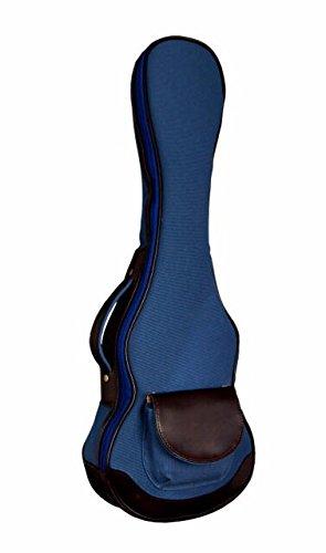 ウクレレケース ukulelecase 帆布バック UCB-C コンサート用 (ブルー)
