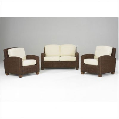 Buy Low Price Home Styles Cabana Banana 2 Chairs and Loveseat in Cocoa (5402-300 / 5402-20 / 5402-90 / 5402-22)