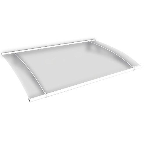 schulte vordach haust r acrylglas stahl wei pultvordach acrylglas satiniert 150 x 95 cm. Black Bedroom Furniture Sets. Home Design Ideas