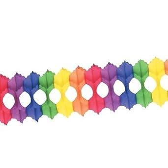 Pkgd Arcade Garland (rainbow) Party Accessory  (1 count) (1/Pkg)