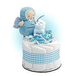 Diaper Cake Cupcakes