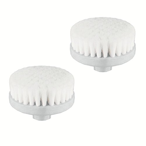 Exfoliating Facial Brush Heads, 2 count