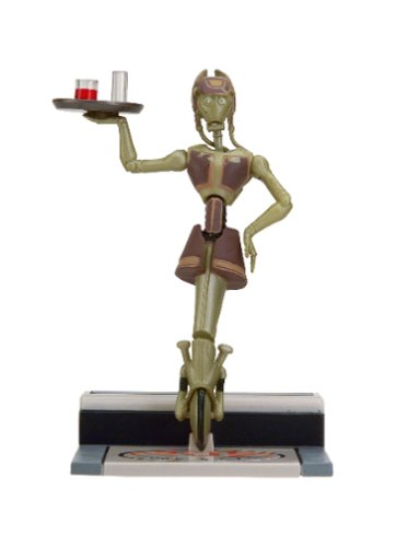 Star Wars Attack of the Clones Dexter's Diner Wa-7 Action Figure
