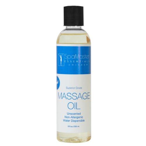 Master Massage Superior Grade Massage Oil, Unscented (8.5 Fluid Ounces)