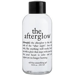 the afterglow | oil-free smoothing gel | philosophy 4 oz.