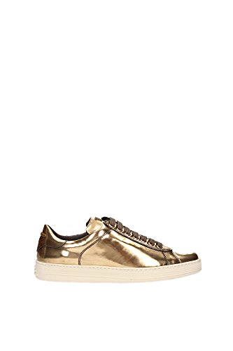 115W1194TMCAGOLGOLD-Tom-Ford-Sneakers-Femme-Cuir-Or