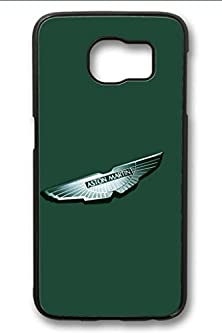 buy S6 Case,Hard Shell Plastic Pc [Black] Cover Snugly Sleek Slim Light Weight Frosted Colorful Vibrant Fit Headphones Port Oil Water Proof Samsung Galaxy S6-Aston Martin Symbol 10