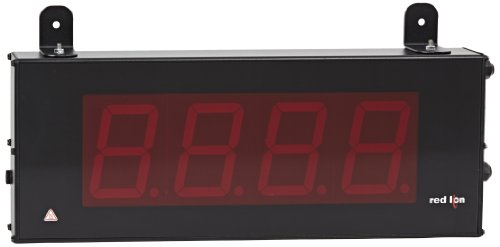 "Red Lion Basic Counter 4 Digits, 4"" High Character Size Led Display, 50-250 Vac/Dc, 50/60 Hz, 25Khz Max Count Rate"