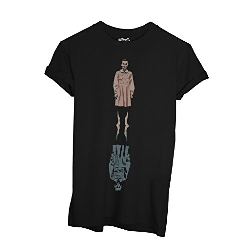 T-Shirt ELEVEN UPSIDE DOWN - FILM by Mush Dress Your Style - Donna-M-Nera