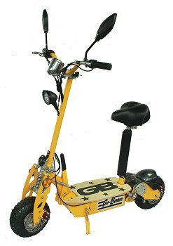 800 Watt Folding Electric Commuter Scooter For Big Kids, Yellow