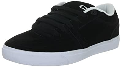 Globe The Eaze GBEAZE, Unisex - Erwachsene Sportive Sneakers, Schwarz (black/white/freyed 10771), EU 44.5 (UK 9.5) (US 10.5)